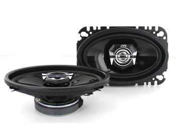 JVC CSV4627 4x6 Inch 2-Way DRVN Series Speakers (Pair)