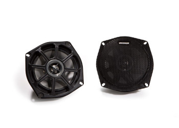 Kicker 10PS5250 5.25 Inch 2-Way PowerSports Series Coaxial Speakers (Pair)