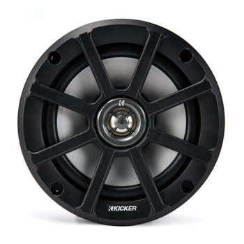 Kicker PSC65 6.5-Inch (160mm) PowerSports Weather-Proof Coaxial Speakers, 4-Ohm (Pair)