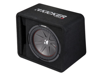 Kicker CompR12 12-inch (30cm) Subwoofer in Vented Enclosure, 2-Ohm, 500W