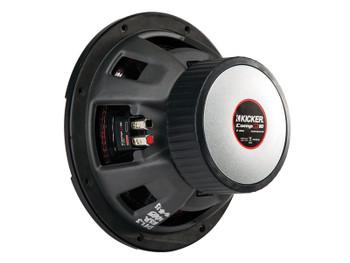 Kicker CompR10 10-Inch (25cm) Subwoofer, DVC, 2-Ohm, 400W