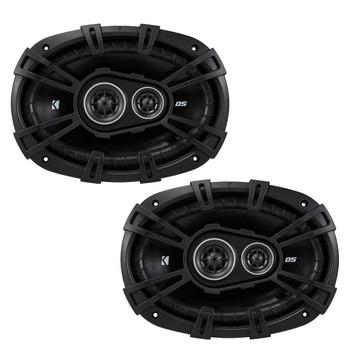 Kicker DSC6930 6x9-Inch (160x230mm) 3-Way Speakers, 4-Ohm (Pair)