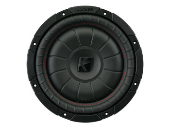 Kicker CompVT 10-Inch (25cm) Subwoofer, SVC, 2-Ohm, 350W
