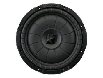 Kicker CompVT 12-Inch (30cm) Subwoofer, SVC, 4-Ohm, 400W