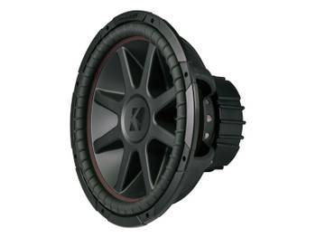 Kicker CompVR 15-Inch (38cm) Subwoofer, DVC, 4-Ohm, 500W