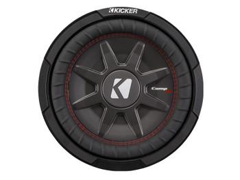 Kicker CompRT10 10-Inch (25cm) Subwoofer, DVC, 1-Ohm, 400W