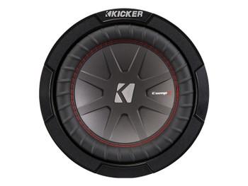 Kicker CompR8 8-Inch (20cm) Subwoofer, DVC, 2-Ohm, 300W