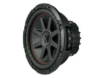 Kicker CompVR 10-Inch (25cm) Subwoofer, DVC, 4-Ohm, 350W