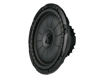 Kicker CompVT 12-Inch (30cm) Subwoofer, SVC, 2-Ohm, 400W