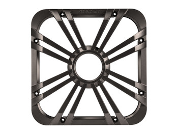 Kicker 10-inch (25cm) Square Subwoofer Grille for 11S10L7,LED, Charcoal