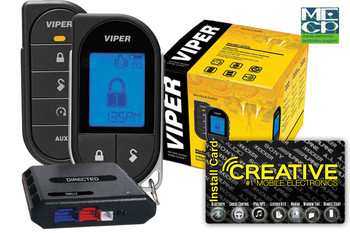 Viper 4706V 2way Lcd Remote Start 1mile Range - Price Includes Standard Installation