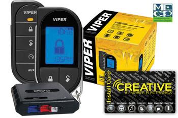 Viper 4706V 2way Lcd Remote Start 1mile Range - Price Includes Standard Installation