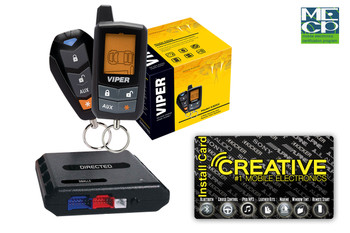 Viper 5305V LCD 2-Way Security and Remote Start System - Price Includes Standard Installation