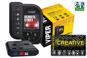 Viper 5906V Responder HD Sst 2way Security W/Remote Start - Price Includes Standard Installation