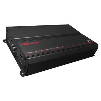 JVC KS-DR3004 1000W Peak 4-Channel DR Series Class-AB Power Amplifier