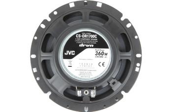 JVC CS-DR1700C 360W Peak (55W RMS) 6.75 2-Way Factory Upgrade Component Speakers - Pair
