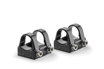 JL Audio PS-SWMCP-B-1.500 Pipe Mounting Fixtures (Swivel) for VeX Speaker Systems. Clamps have inner-diameter of 1.500""