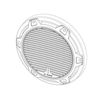 JL Audio SGR-MX10-CG-T-RP Titanuim Classic Grille for MX10IB3