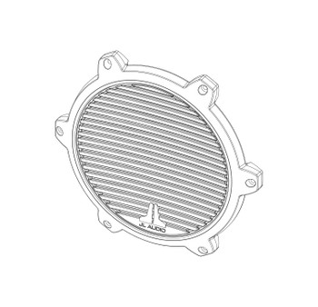 JL Audio SGR-M770-CG-WH-RP White Classic Grille for M770