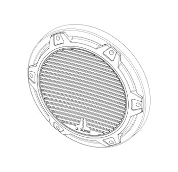 JL Audio SGR-MX10-CG-WH-RP White Classic Grille for MX10IB3