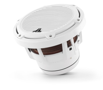 JL Audio M8IB5-CG-WH: 8-inch (200 mm) Marine Subwoofer Driver White Classic Grilles 4 Ω