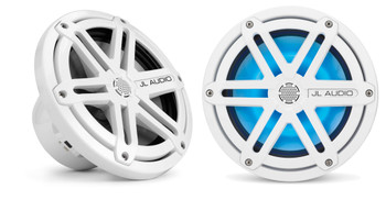 JL Audio MX770-CCX-SG-WLD-B: LED7.7-inch (196 mm) Cockpit Coaxial System White Sport Grilles