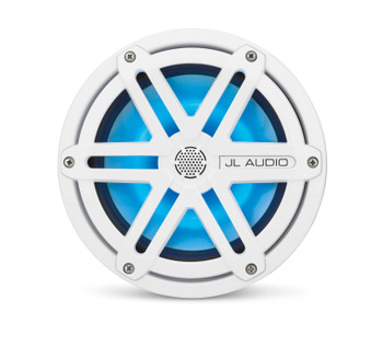 JL Audio MX770-CCX-SG-WLD-B: LED 7.7-inch (196 mm) Cockpit Coaxial System White Sport Grilles