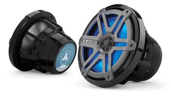 JL Audio M880-CCX-SG-TLD-B 8.8-inch Cockpit Coaxial Speaker System Titanium Blue LED
