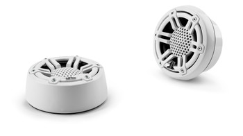 JL Audio M100-CT-SG-WH: 1-inch (25 mm) Component Tweeters White Sport Grilles Pair