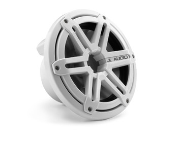JL Audio M770-TCS-SG-WH:7.7-inch (196 mm) Tower Component System White Sport Grilles