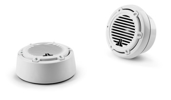 JL Audio M100-CT-CG-WH: 1-inch (25 mm) Component Tweeters White Classic Grilles Pair