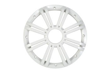 KMW10G 10-Inch (25cm) Grille for 43KMW10 Subwoofer, LED, White, RoHS Compliant