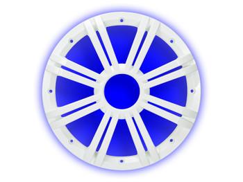 KMW10G 10-Inch (25cm) Grille for 43KMW10 Subwoofer, LED, White, RoHS Compliant