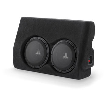 JL Audio SB-T-TACDC/10W1v3: Stealthbox® for 2005-2011 Tacoma Double Cab