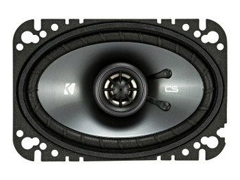 Kicker CSC 4x6-INCH (100x160mm) COAXIAL SPEAKERS, 4-OHM (Pair)