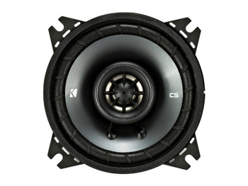 Kicker CSC 4-INCH (100mm) COAXIAL SPEAKERS, 4-OHM (Pair)