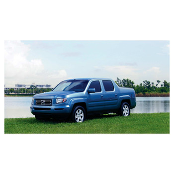 JL Audio SB-H-RIDGLNE/10W3v3/GA:Stealthbox® for 2006-Up Honda Ridgeline with Gray interior