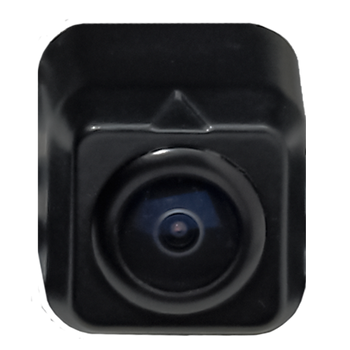 Advent ACA800 Mini License Plate Mount Camera W/ Parking Lines and Reverse Image.