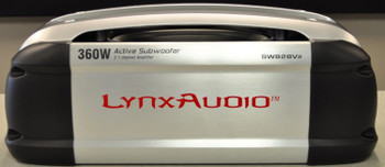 200 Watt Amplified Subwoofer by Lynx Audio - Contains A Built In 160 Watt 2-Channel Class D Amplifier For Door Sepakers