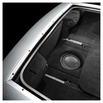 JL Audio SB-GM-VET/10W3v3/BK:Stealthbox® for 1997-2004 Chevrolet C5 Corvette with Black interior