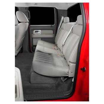 JL Audio SB-F-150-SPRCRW/13TW5v2/BK:Stealthbox® for 2009-2014 Ford F-150 SuperCrew with Black interior