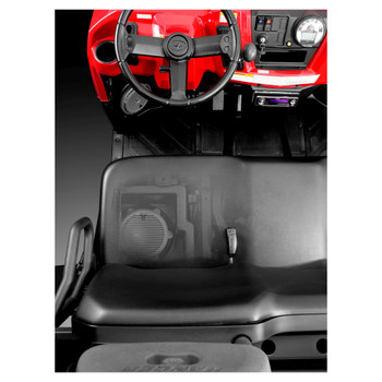 JL Audio SB-POL-RNGR/M10W5:Stealthbox® for 2004-2008 Polaris Ranger & 2007-2010 Ranger Crew Cab, Sub Only