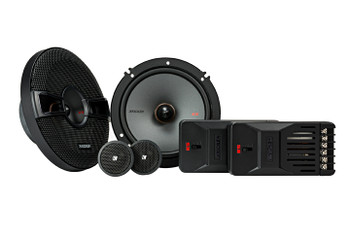 """Kicker KSS6504 KSS650 6.5"""" Component system with 1"""" tweeters 4-Ohm"""