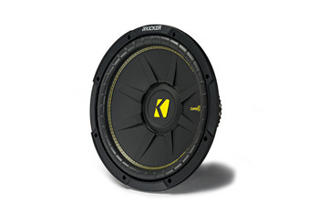 "Kicker CWCD124 CompC 12"" Subwoofer Dual Voice Coil 4-Ohm"