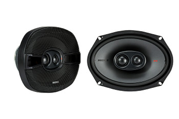 """Kicker KSC69304 KSC6930 6x9"""" 3-way Speakers with 1"""" and .75"""" tweeters 4-Ohm (Pair)"""