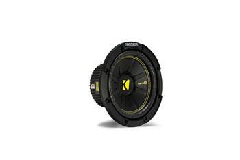 """Kicker CWCS84 CompC 8"""" Subwoofer Single Voice Coil 4-Ohm"""