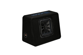 "Kicker TL7S102 L7S 10"" Subwoofer in Thin-Profile Enclosure 2-Ohm"