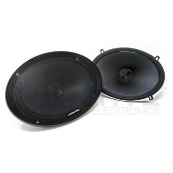 Alpine X-S69C X-Series 6x9 Inch Component 2-Way Speakers (Pair)
