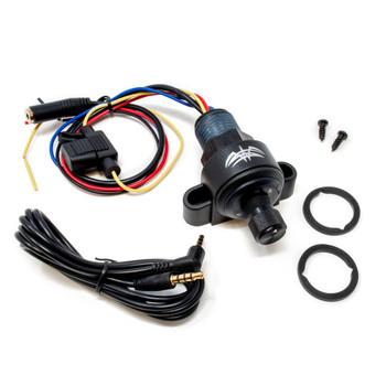 Wet Sounds WW-BTVC-V2 Bluetooth w/ Volume Control - In dash, under dash mount