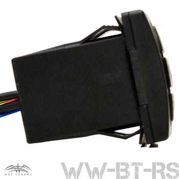 Wet Sounds WW-BT RS Bluetooth w/ Volume Control - Rocker Panel Mount